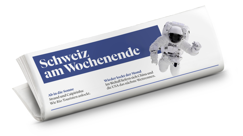 Inserieren Sie in der auflagenstärksten Wochenendzeitung der Schweiz